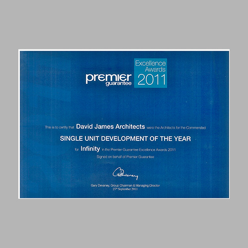 Premier Guarantee Excellence Awards 2011