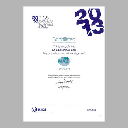 RICS South West & Wales Awards 2013